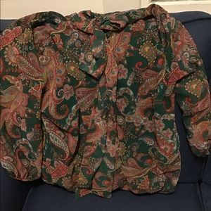 Large New York and Company Blouse with tags
